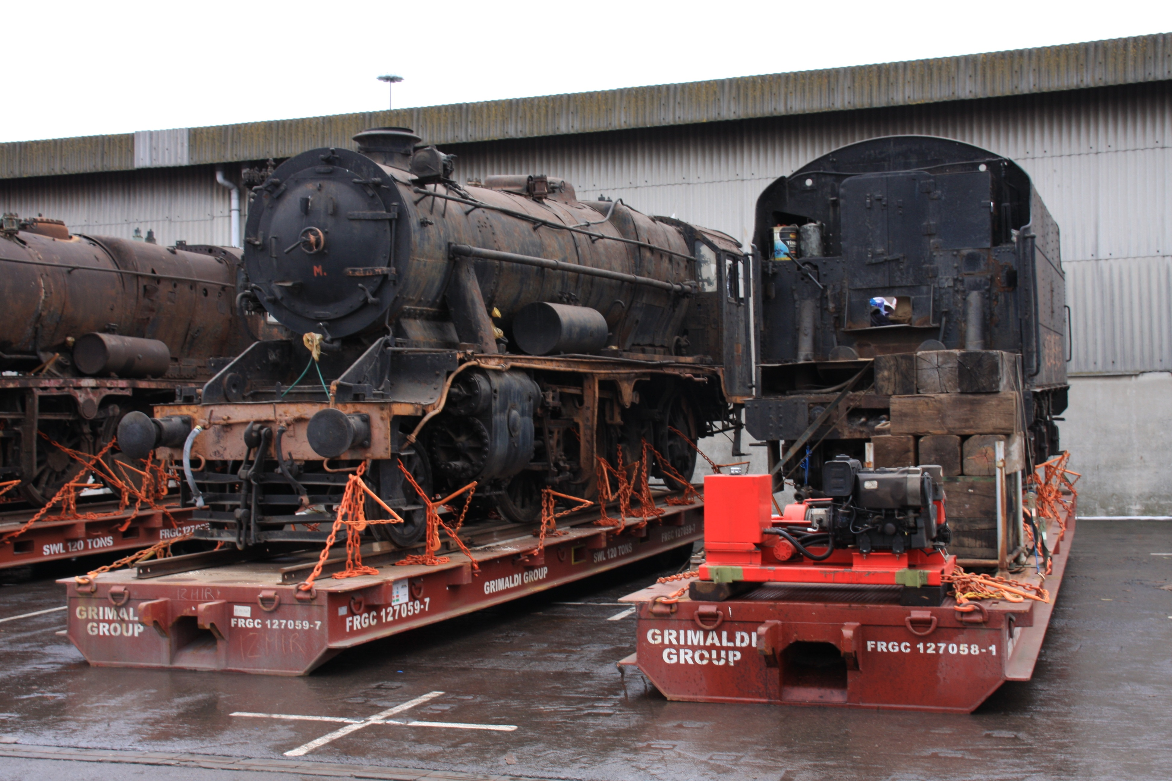 45170 at Portbury Dock. Photo provided by The Bristol Port Company.